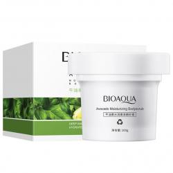 Скраб для тела с авокадо и маслом ши Bioaqua Avocado Moisturizing Body Scrub (100g)